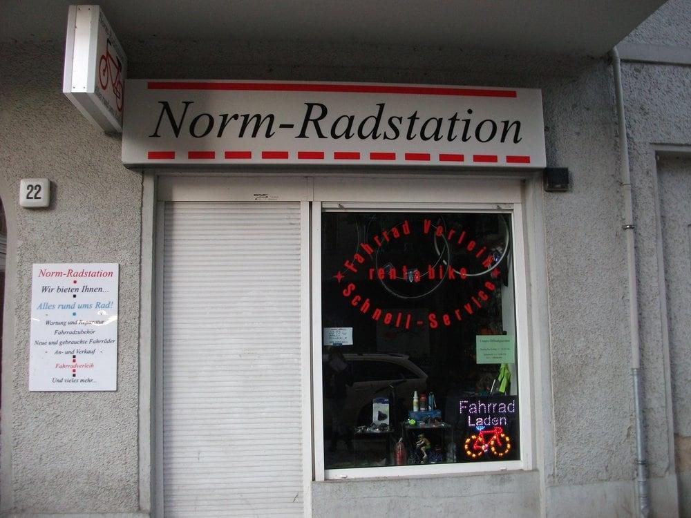 Norm-Radstation - Fahrradverleih - Krefelder Str. 22, Tiergarten ...
