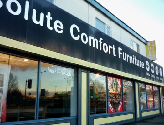 Absolute comfort furniture furniture shops the cross for Furniture queensferry