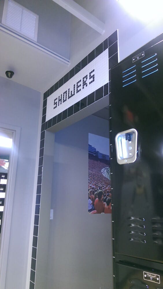 Locker Room To The Left And Hair Wash Room To The Right Yelp