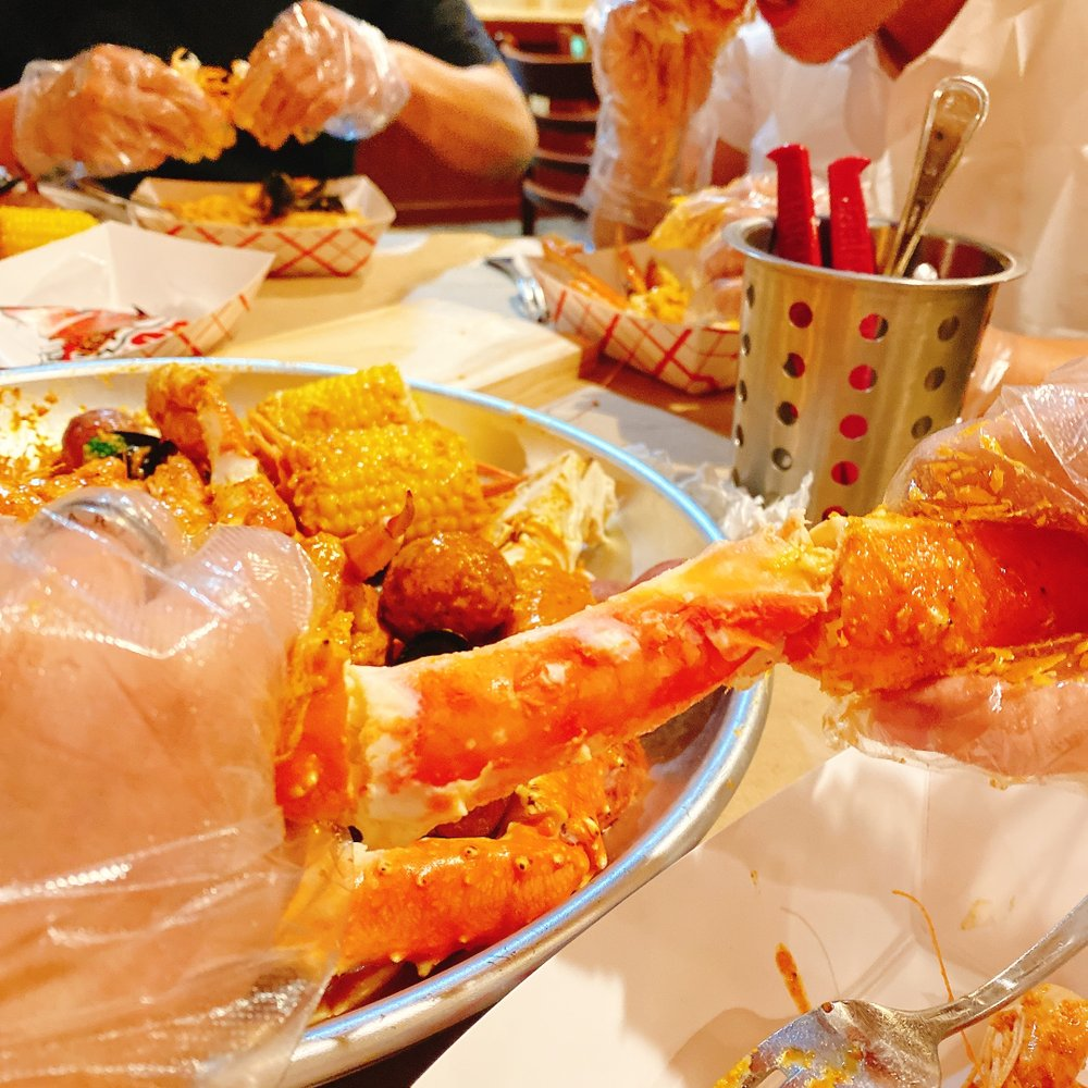 Food from Million's Crab