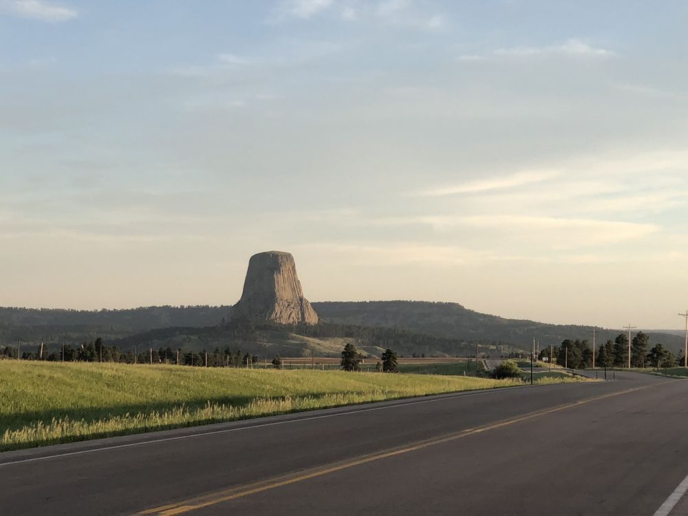 Devils Tower Tipi Camping: 380 Hwy24, Devils Tower, WY