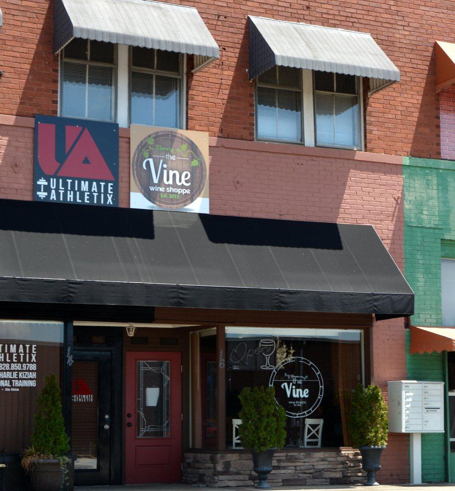 THE VINE Wine Shoppe: 16 S Main St, Granite Falls, NC