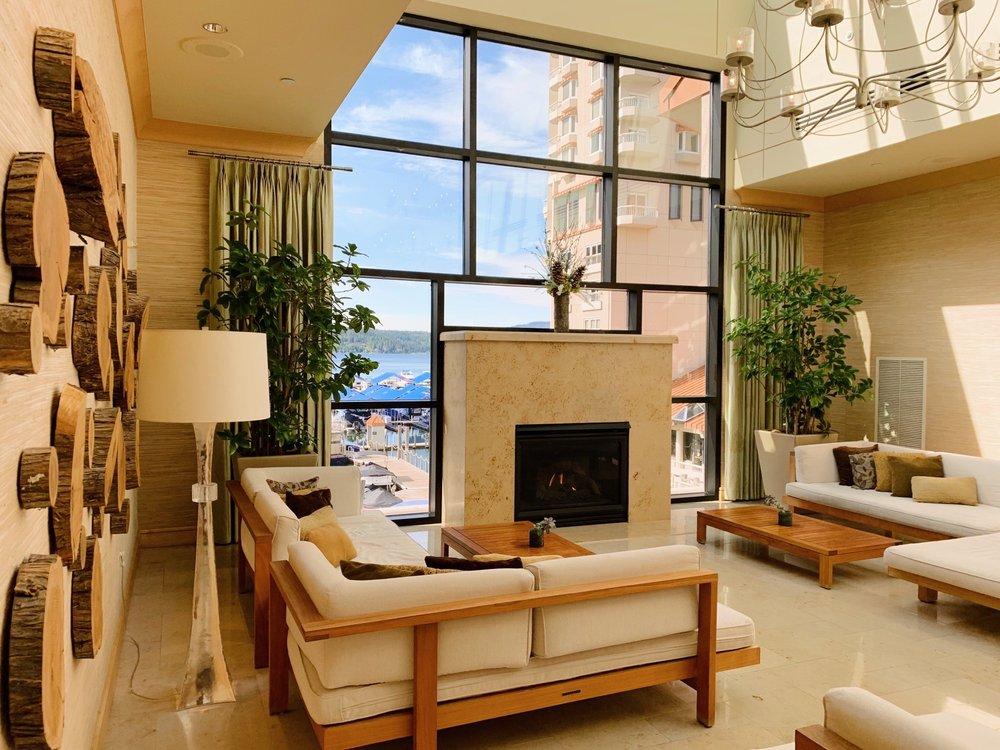 The Coeur d'Alene Resort Spa: 115 N 2nd St, Coeur d'Alene, ID