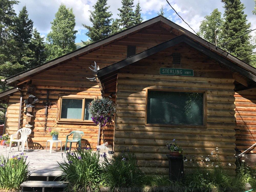 Riverhaven Cabins: 18226 Sterling Hwy, Cooper Landing, AK