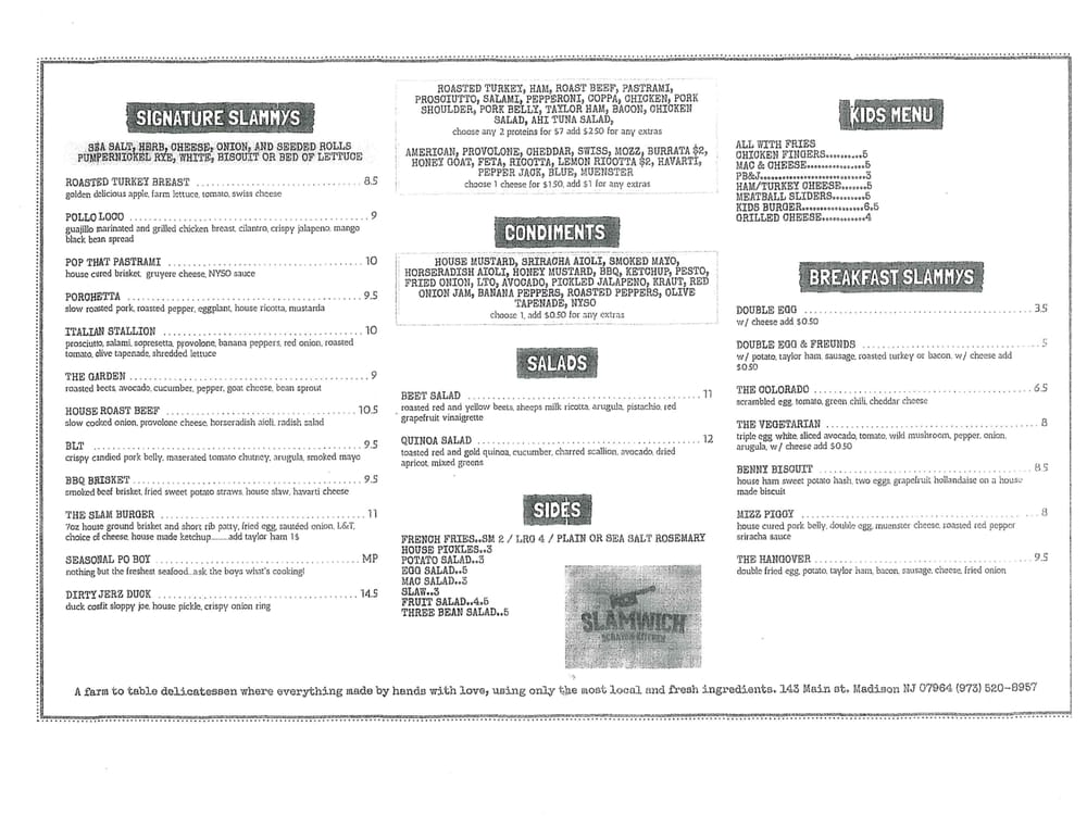 Scratch Kitchen Menu here is the menu! can't wait for #lunch ! - yelp
