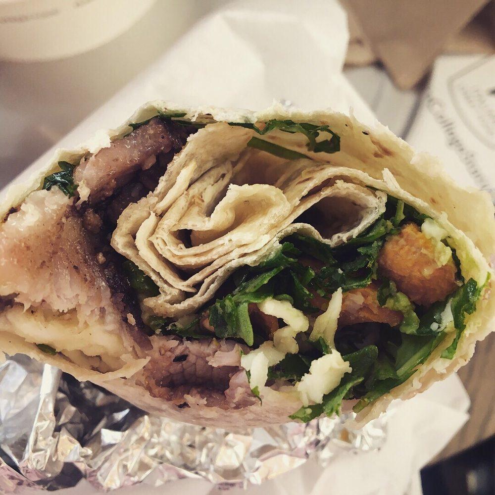 Food from Piada Italian Street Food
