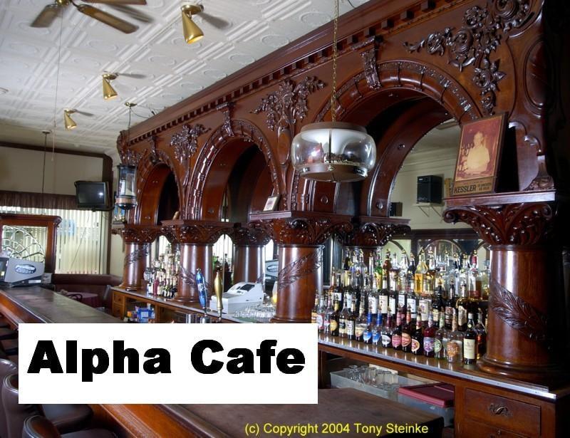 Alpha Cafe: 7 E Auglaize St, Wapakoneta, OH