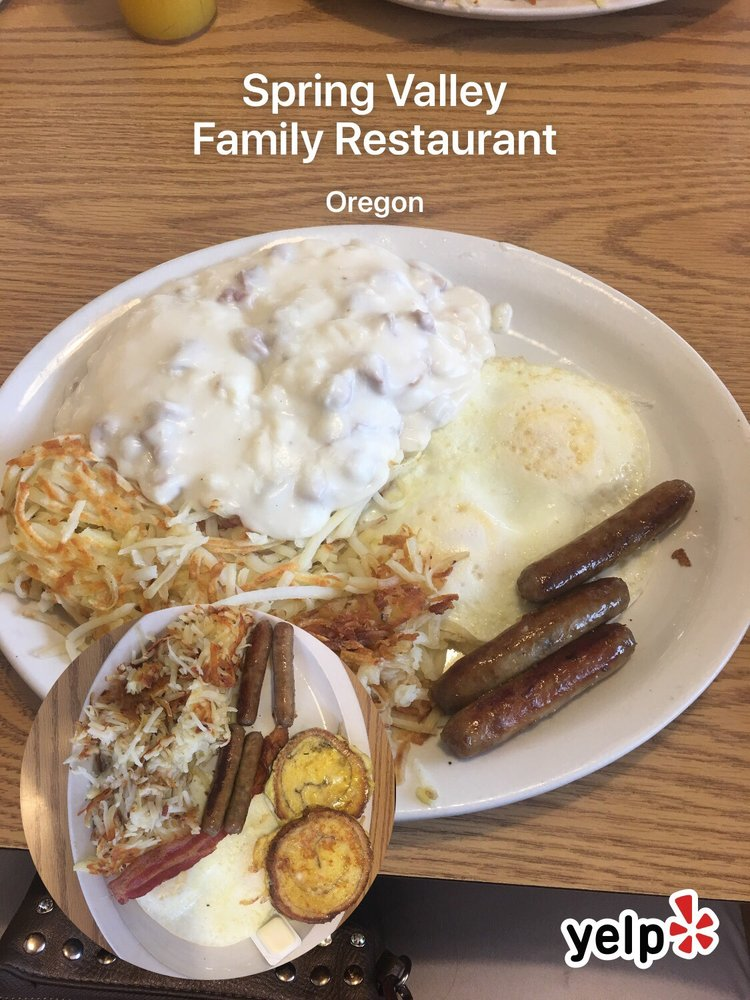 Spring Valley Family Restaurant: 300 E Washington St, Oregon, IL