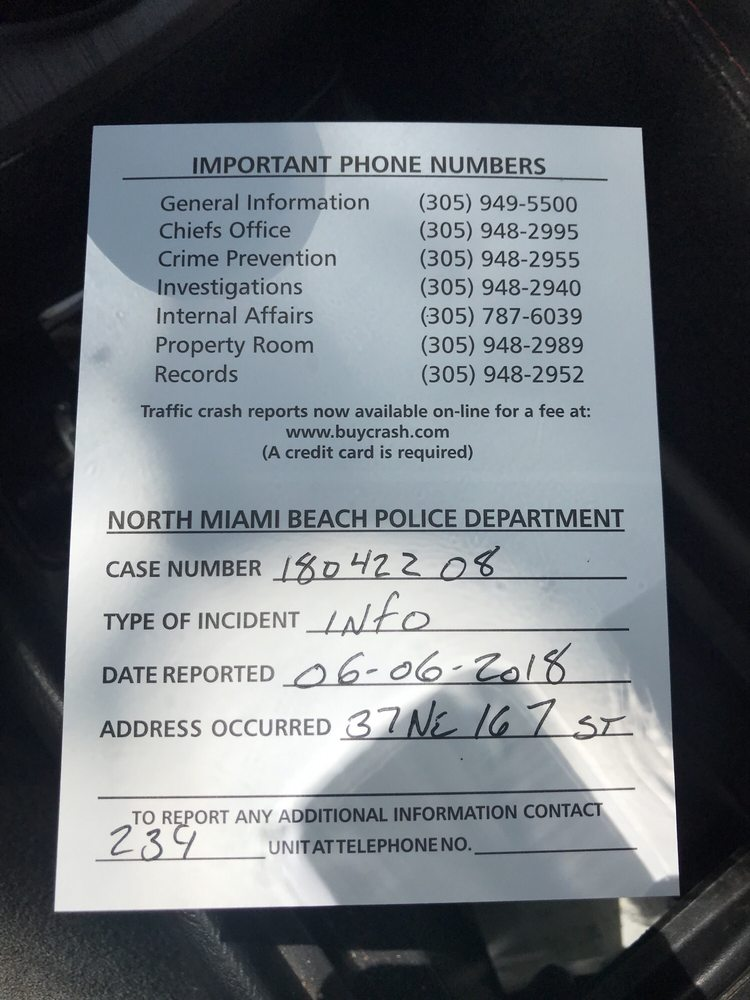 the police report filed for the missing camera that southern photo