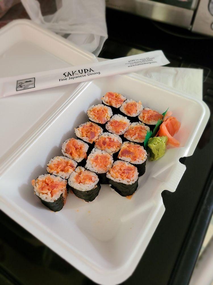 Sakura Japanese Restaurant: 6194 US Hwy 49, Hattiesburg, MS