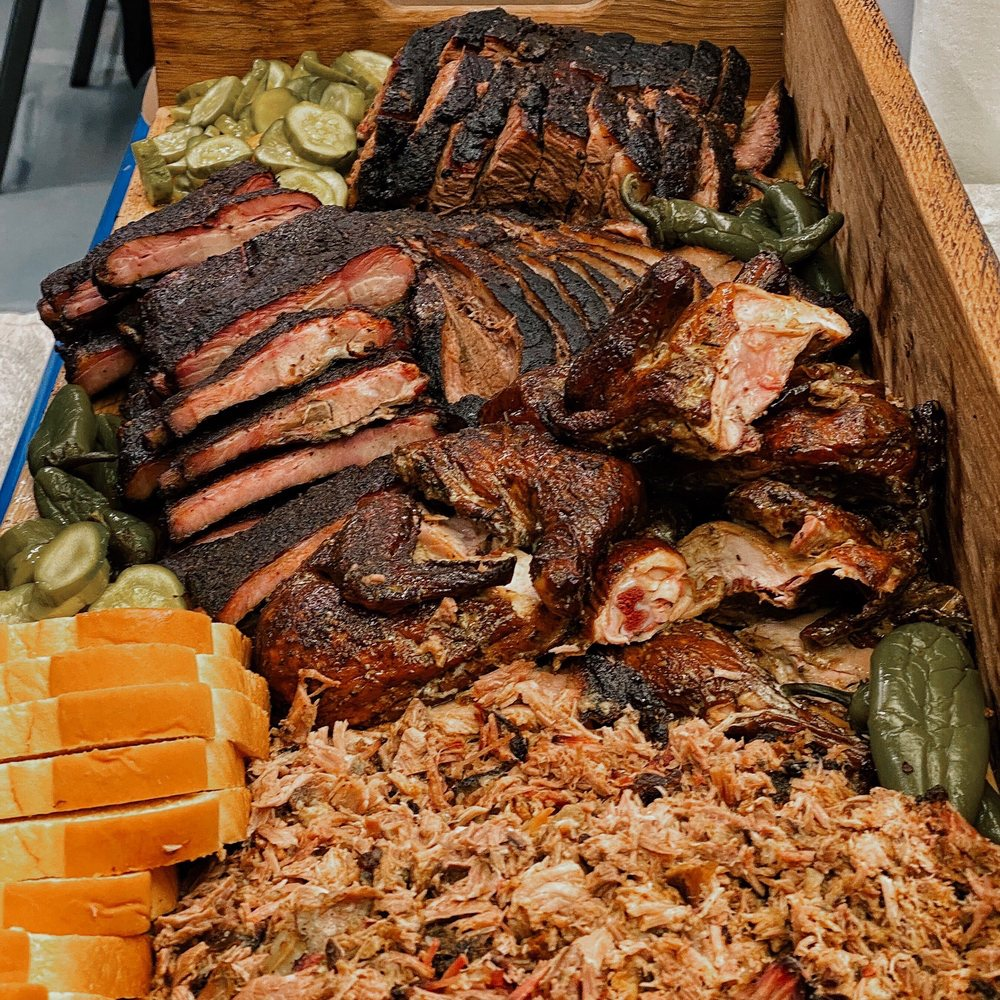 Food from Sloppy Mama's BBQ
