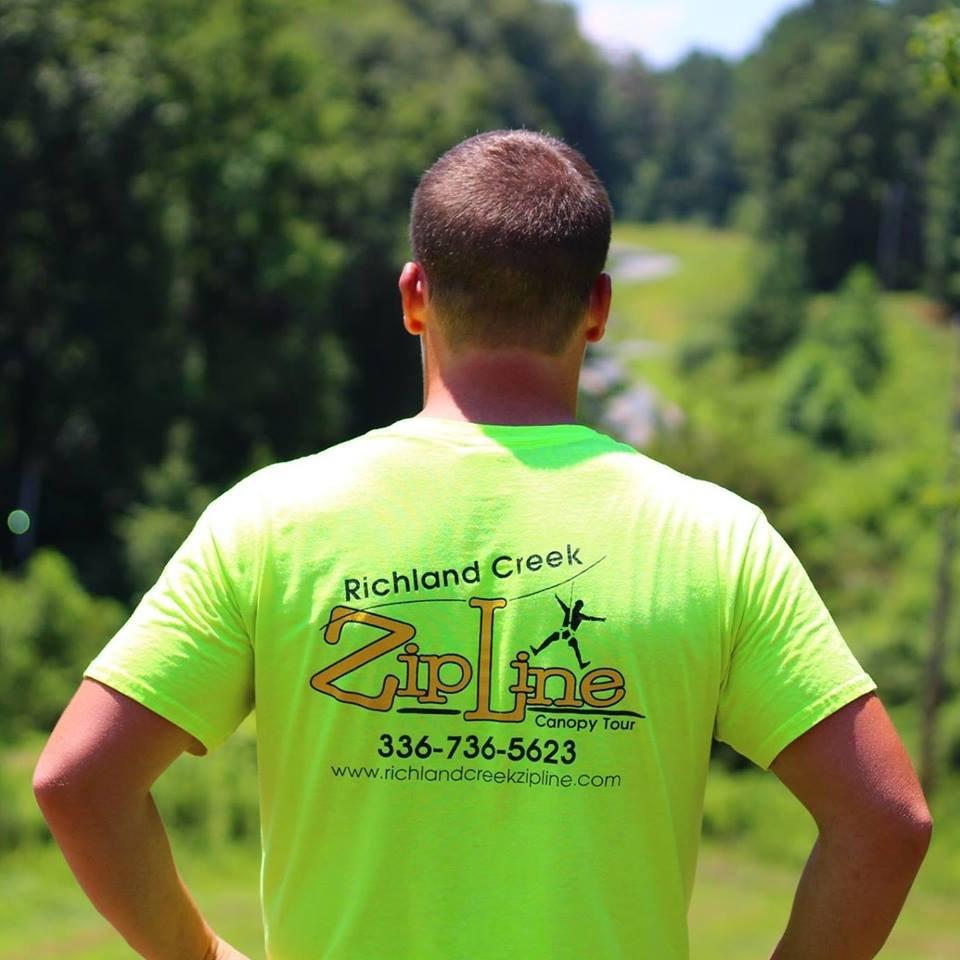 Richland Creek Zipline: 2728 Fairview Farms Rd, Asheboro, NC