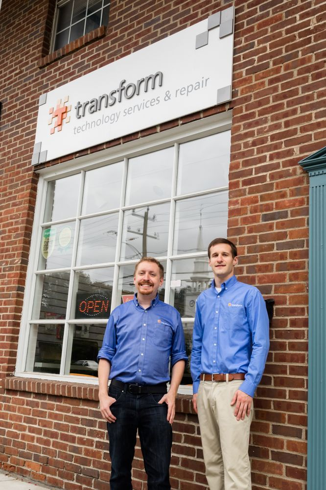 Transform Technology Services & Repair: 124 S Main St, Cheshire, CT