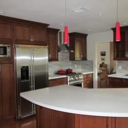 Bon Photo Of Remarkable Refinishing   Sacramento, CA, United States. Beautiful  Cherry Wood Cabinets