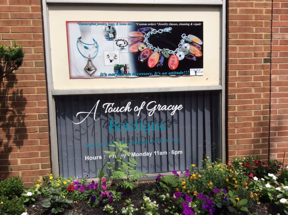 A Touch of Gracye Boutique  & Beads: 2107 N Charles St, Baltimore, MD