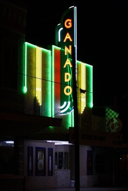Ganado Theater: 120 S Third St, Ganado, TX