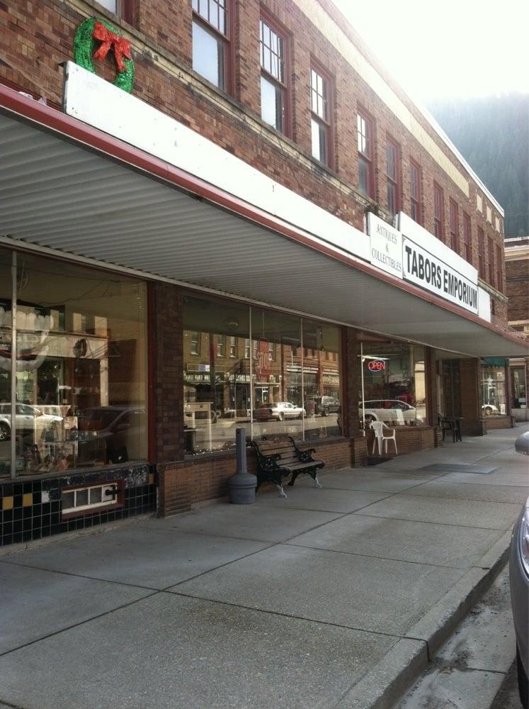 Tabor's Mercantile: 600 Cedar St, Wallace, ID