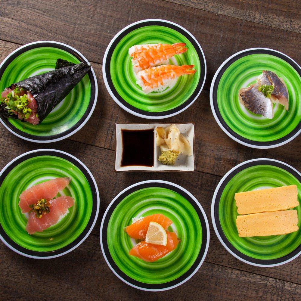 Kura Revolving Sushi Bar: 736 W Big Beaver Rd, Troy, MI