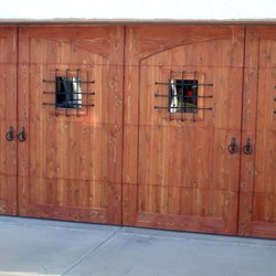 Photo Of Phoenix Garage Door Service   Phoenix, AZ, United States. Wooden  Garage