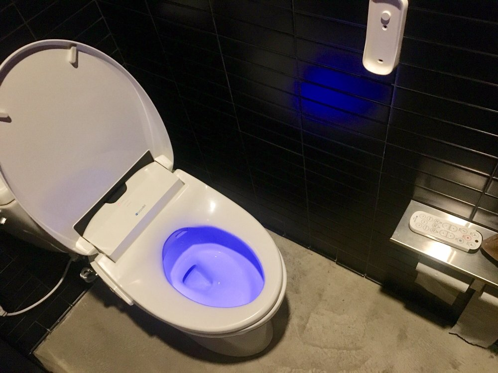 State-of-the-art toilet! - Yelp