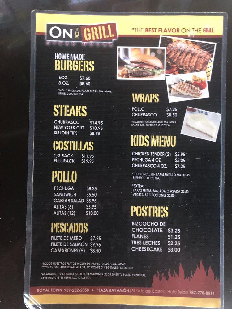 On the Grill: Carretera PR-693, Dorado, PR