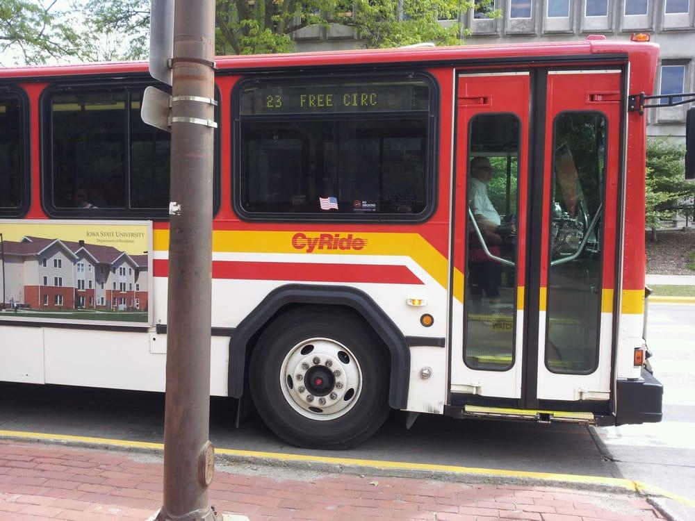 Cy-Ride: 1700 6th St, Ames, IA