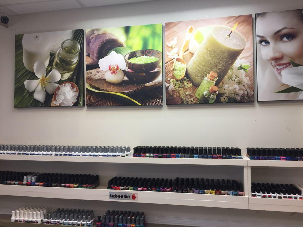 Four seasons nail spa nail salons 127 e blackstock for 4 seasons nail salon