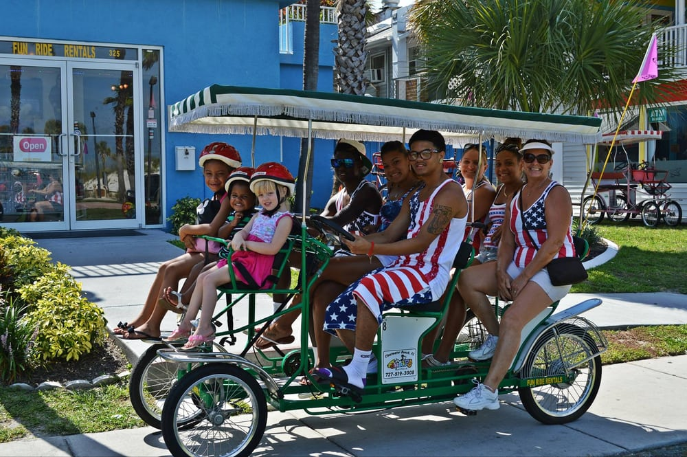Fun Ride Rentals: 301 S Gulfview Blvd, Clearwater, FL