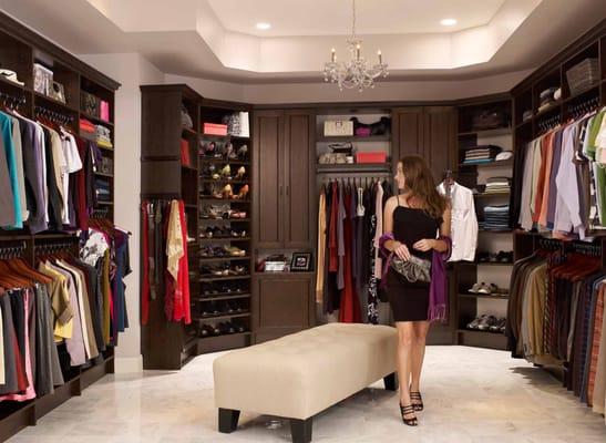 Amazing Custom Walk In Closets Chocolate Pear Yelp