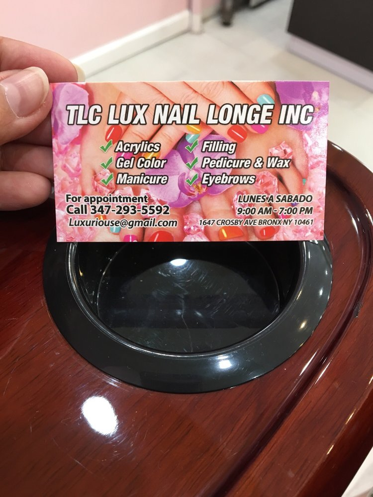 TLC Lux Nail Lounge: 1647 Crosby Ave, Bronx, NY