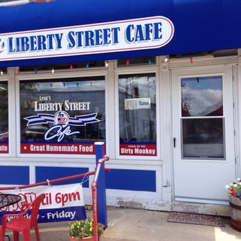 Liberty Street Cafe Morris Menu
