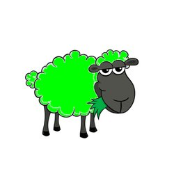 Image result for green sheep