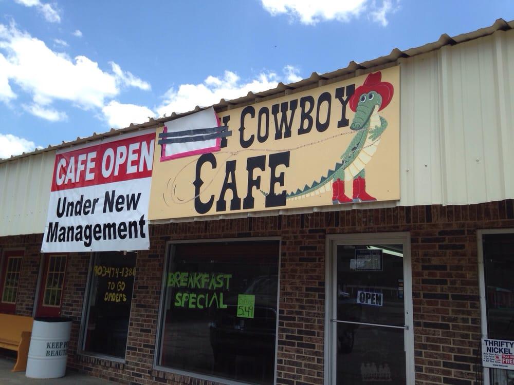 Cowboy Cafe: 119-137 Locust St, Point, TX