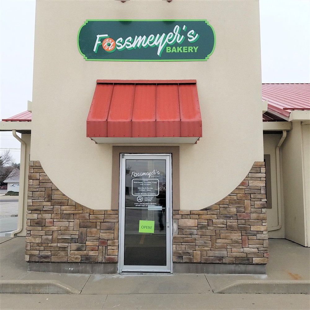 Fossmeyer's Bakery: 1500 Willow St, Vincennes, IN