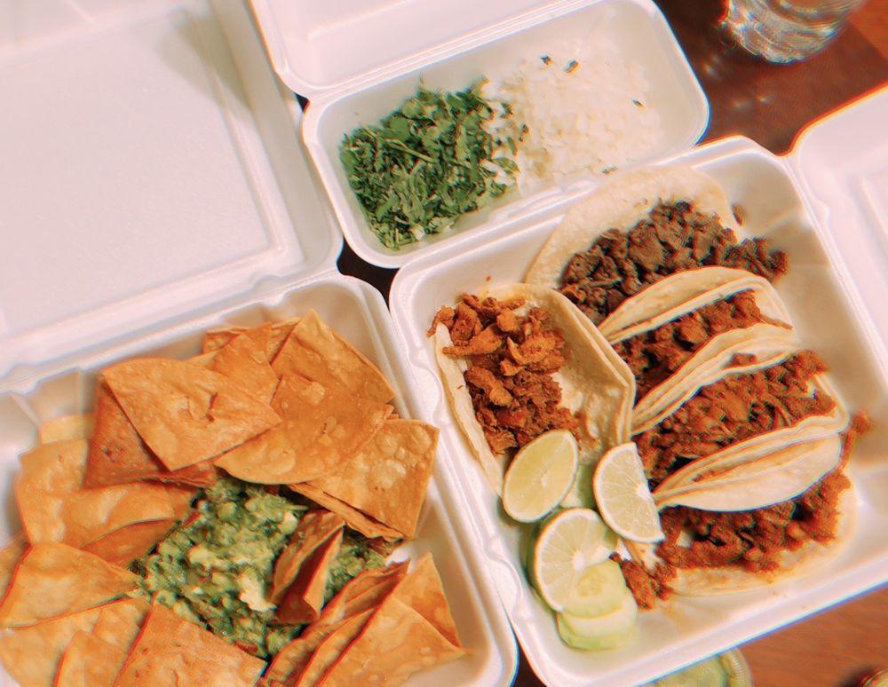 Food from El Changarro