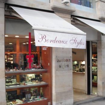 Bordeaux stylos maroquinerie 3 cours de l 39 intendance for Appartement bordeaux grands hommes