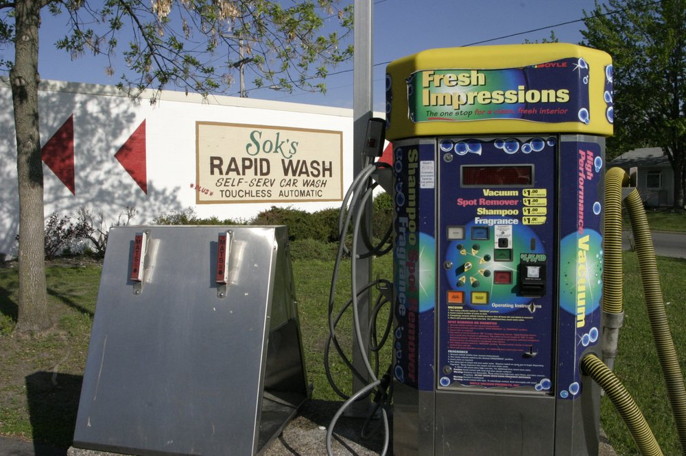 Sok's Rapid Car Wash: 945 N Benton Dr, Sauk Rapids, MN