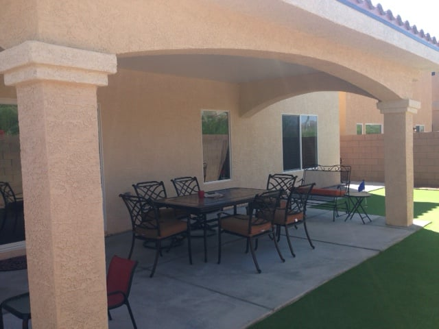 Stucco Patio Cover From This Company Yelp
