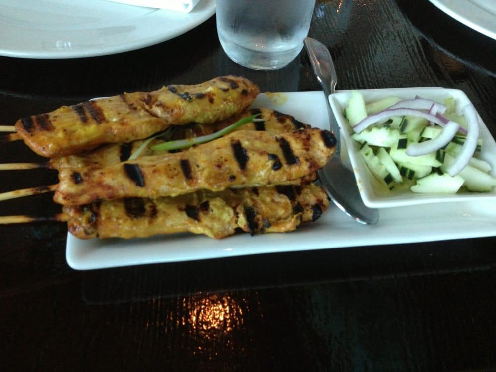 Chicken satay yelp for Ayutthaya thai cuisine bar