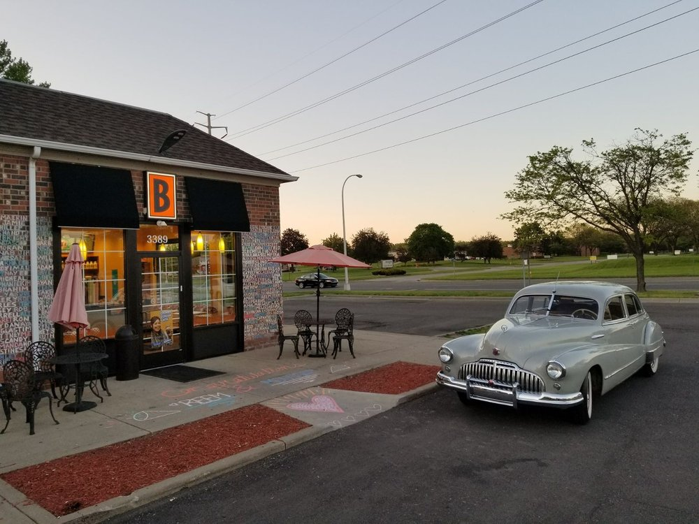 Biggby at Sunset with Detroit Classic Car Rentals - Yelp