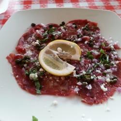 Photo Of Triolas Restaurant Humble Tx United States Beef Carpaccio