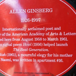 83caaab9a85e Beat Memories   The Photographs of Allen Ginsberg - Art Galleries - 100  Washington Sq E