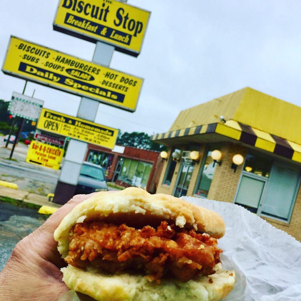 Biscuit Stop: 820 S Brightleaf Blvd, Smithfield, NC