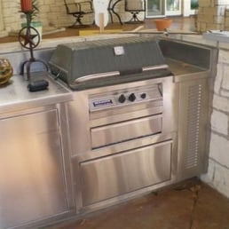 Photo Of Stainless Steel Fabricators   Tyler, TX, United States. Outdoor  Kitchen