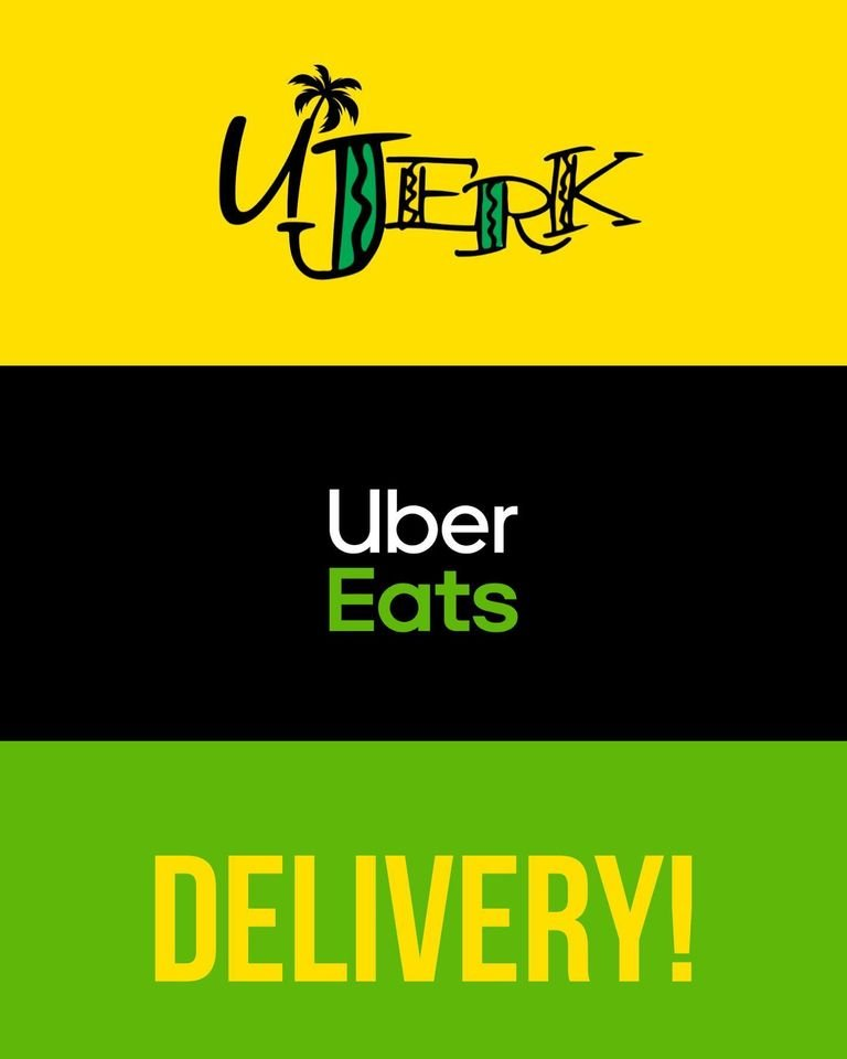Food from UJerk Caribbean Eatery