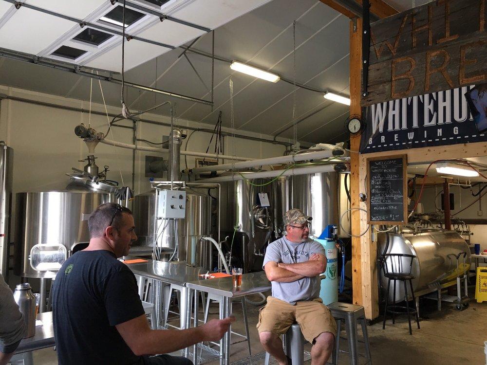 Whitehorse Brewing: 824 Diamond S, Berlin, PA