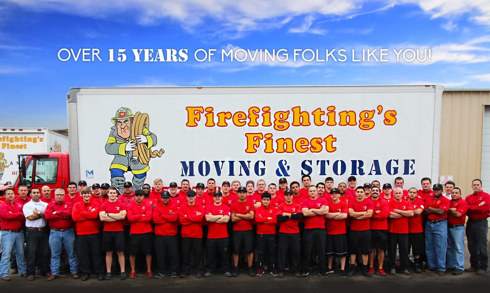 Firefighting's Finest Moving & Storage: 3101 Reagan Dr, Fort Worth, TX