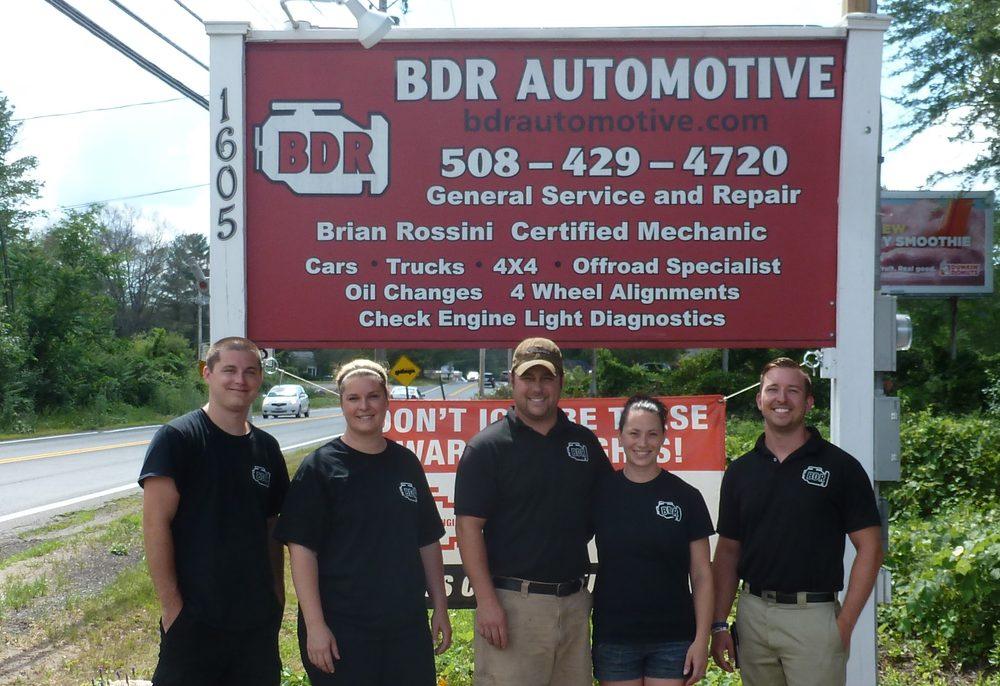 BDR Automotive: 1605 Washington St, Holliston, MA