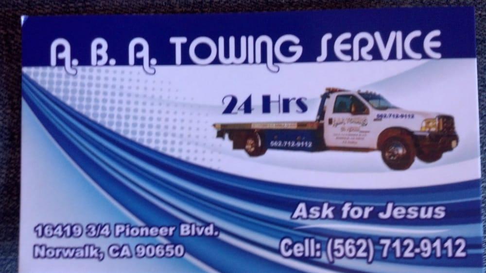 Towing business in Norwalk, CA