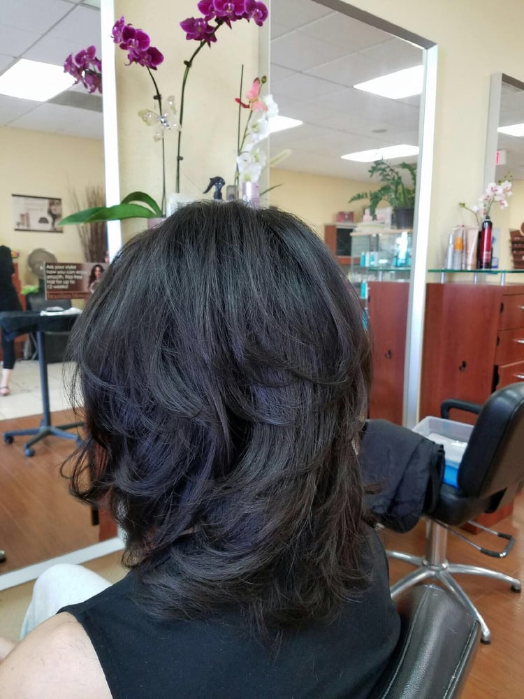 Love the wave yelp for Image joli salon